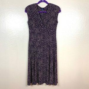 Sleeveless V-Neck Summer Dress.